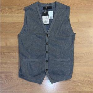 NWT Rag & Bone - Milano Waistcoat/ Vest, Small